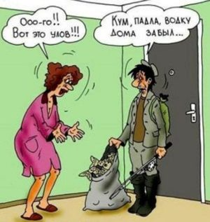 анекдоты про мужа и жену рыбака