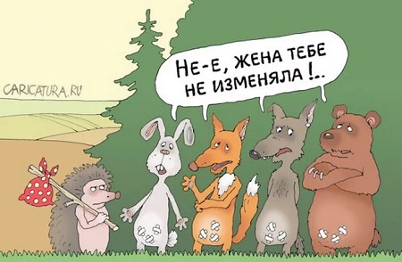 анекдоты про животных